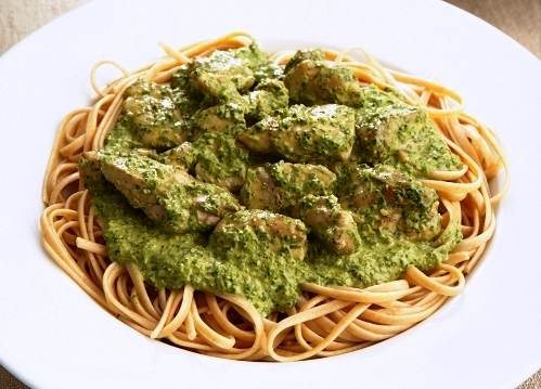 ASIAN CHICKEN PESTO