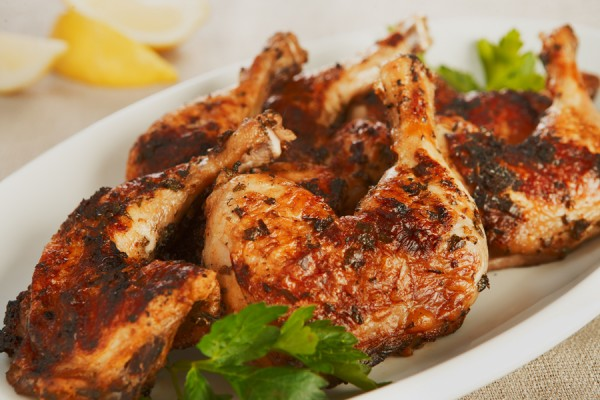 GRILLED GREEK GARLIC CHICKEN