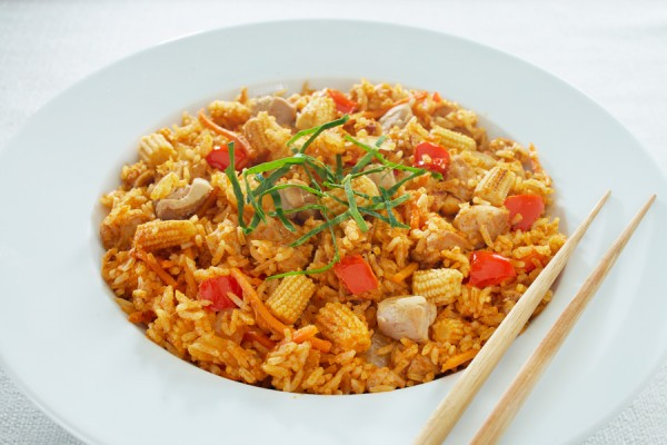 THAI CHICKEN CURRY FRIED RICE