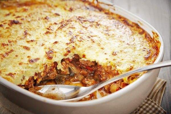 GOURMET CHICKEN MOUSSAKA