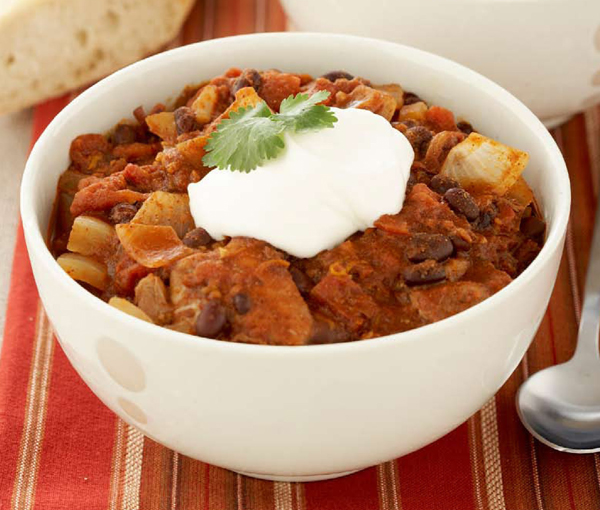 CHICKEN CHILI WITH ORANGE