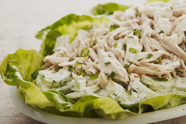 CHICKEN SALAD WITH DILL AND CUCUMBERS