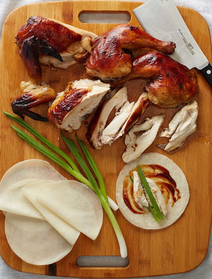 HOISIN GLAZED ROAST CHICKEN