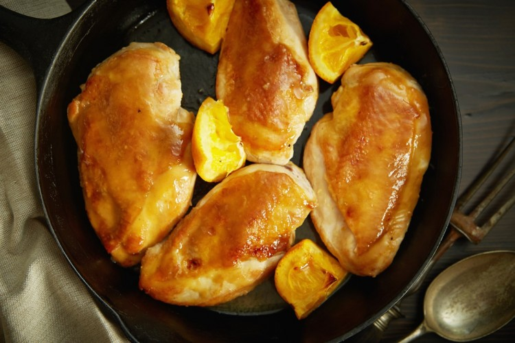 MAPLE MUSTARD GLAZED CHICKEN