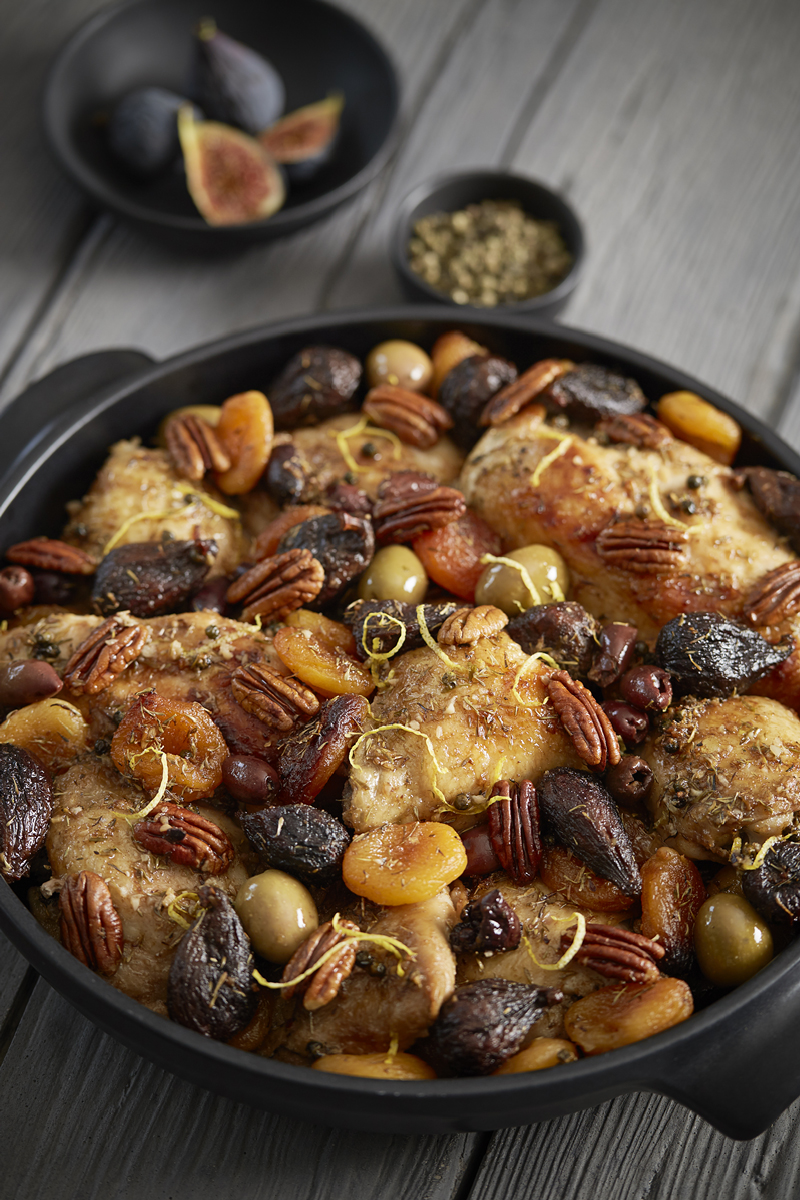 MOROCCAN CHICKEN AND FIGS