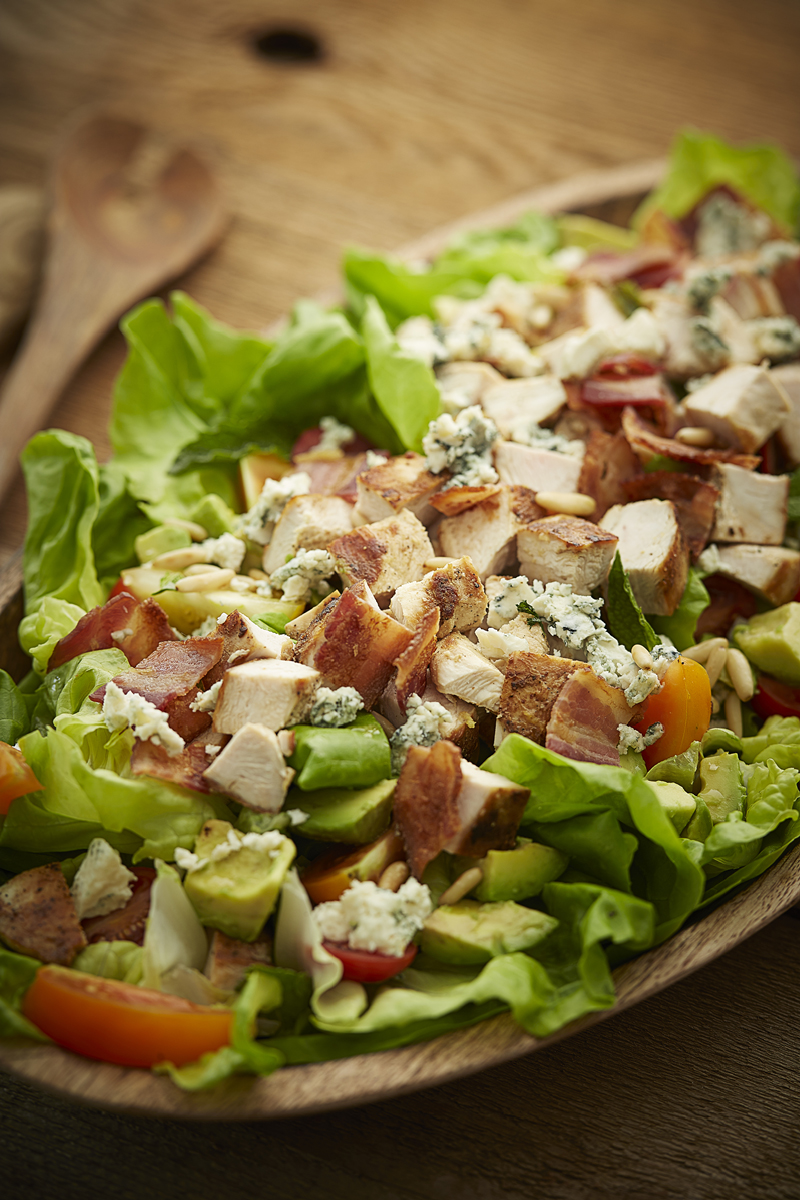 CHICKEN COBB SALAD with FRESH HERBS