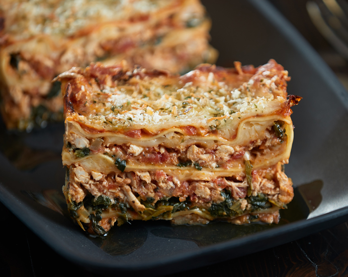 CHICKEN RAGOUT LASAGNA