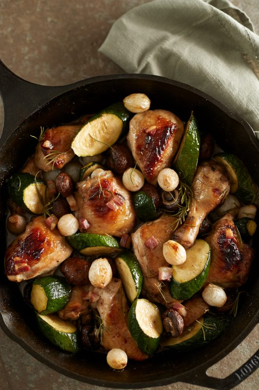 TUSCAN CHICKEN WITH VEGETABLES
