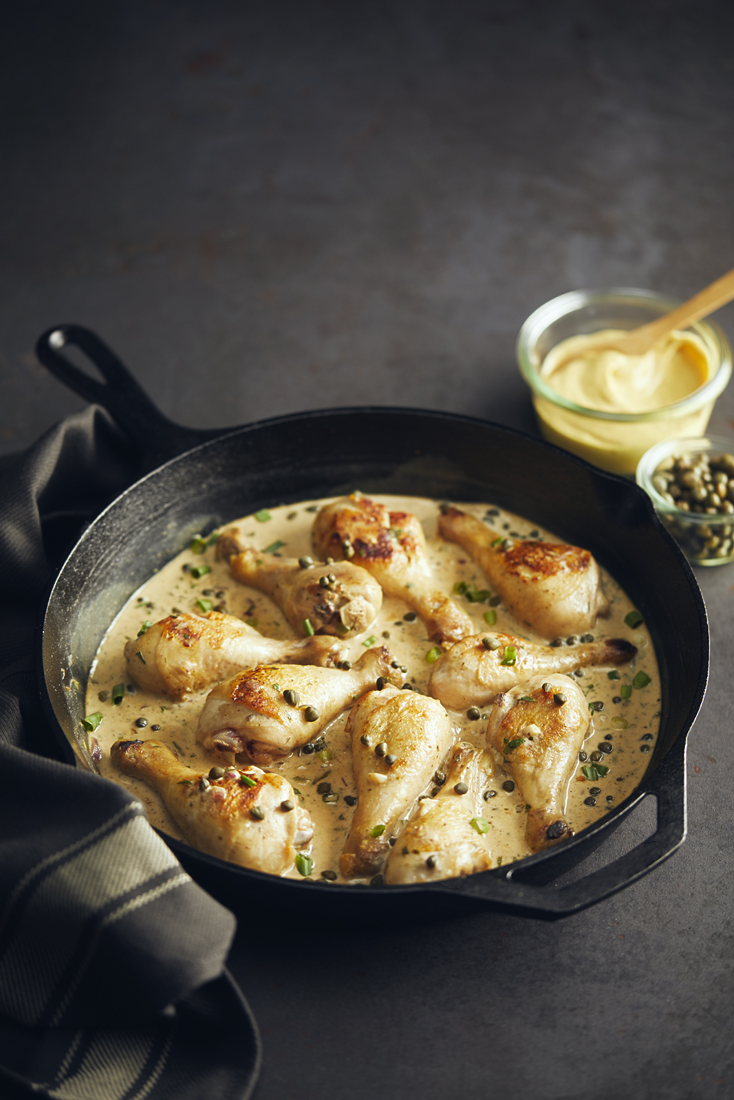 ONE PAN CHICKEN DIJON