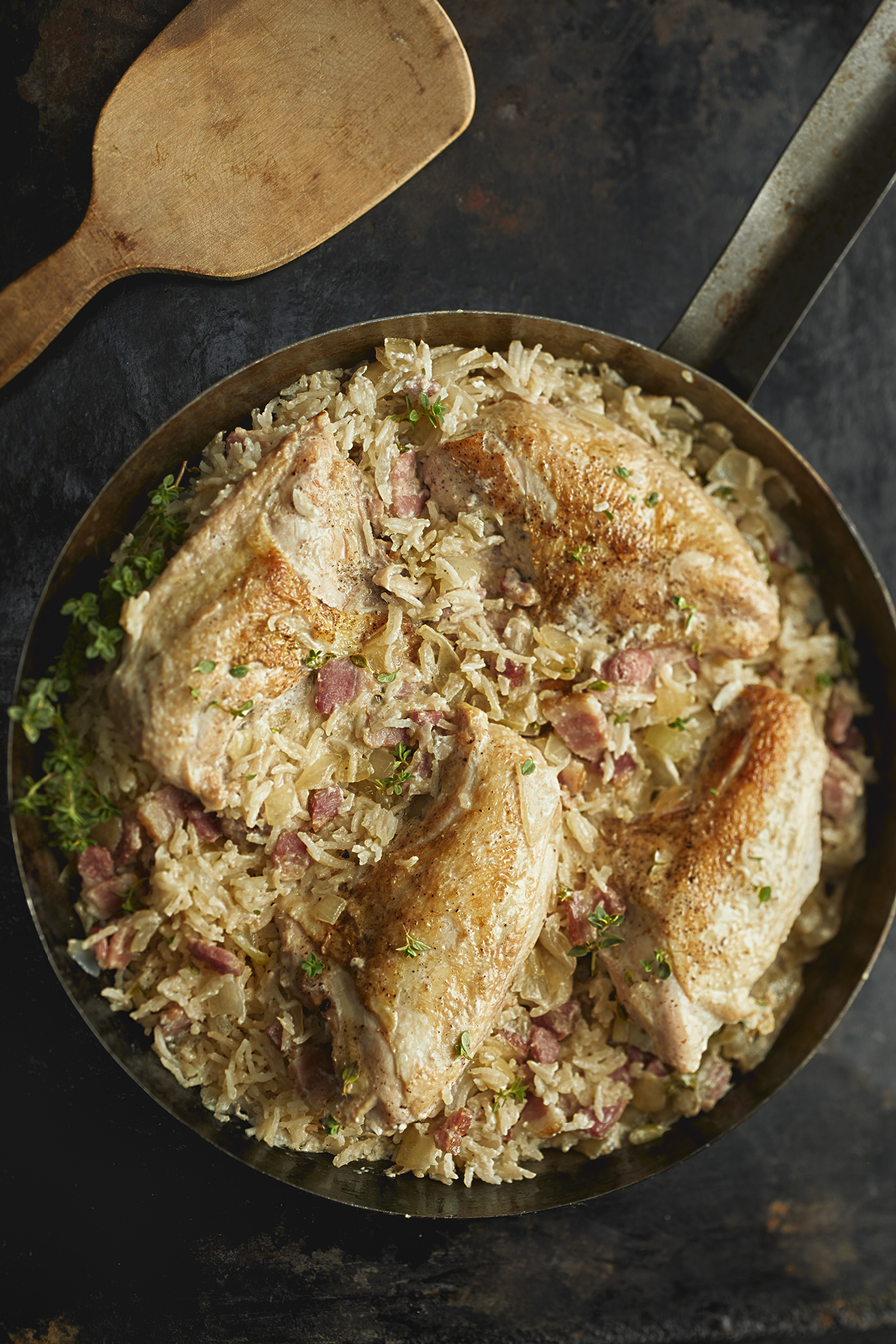 COCONUT CORIANDER CHICKEN PILAF