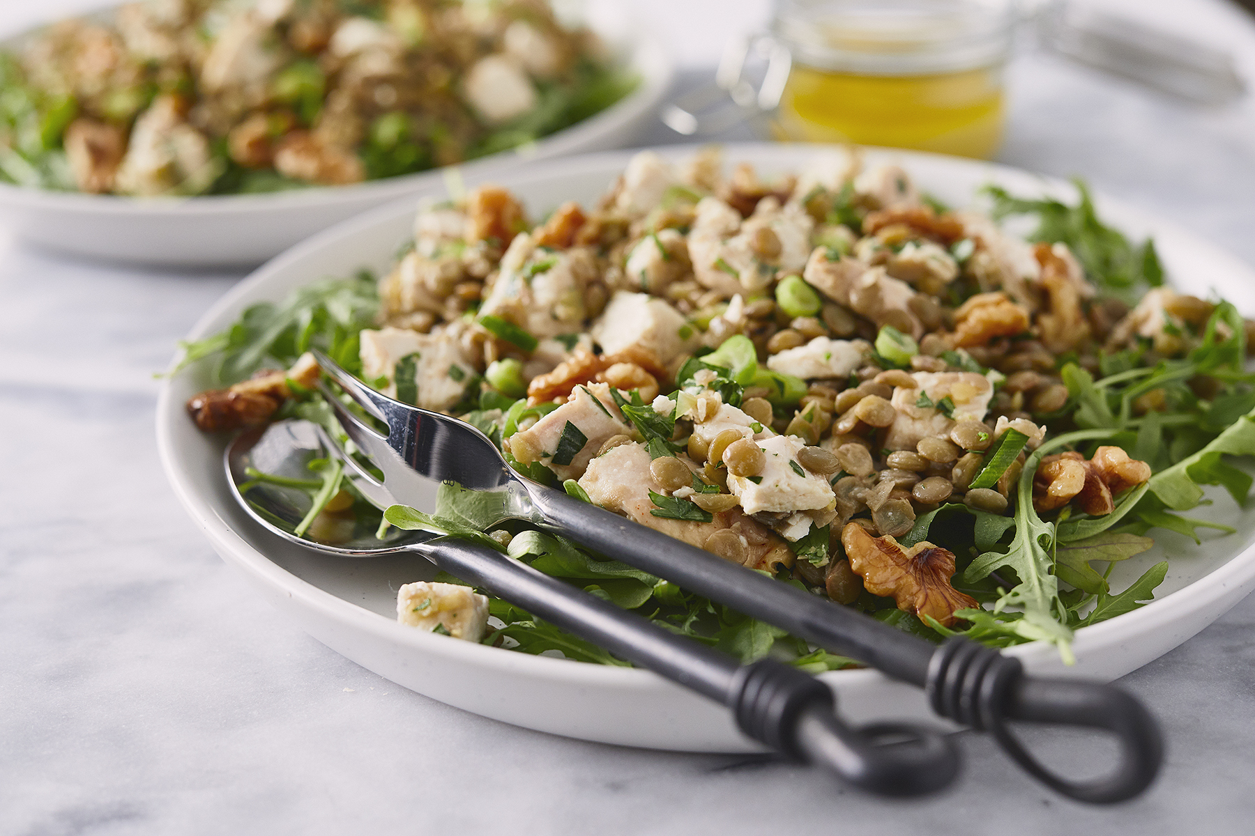 CHICKEN & LENTIL SALAD